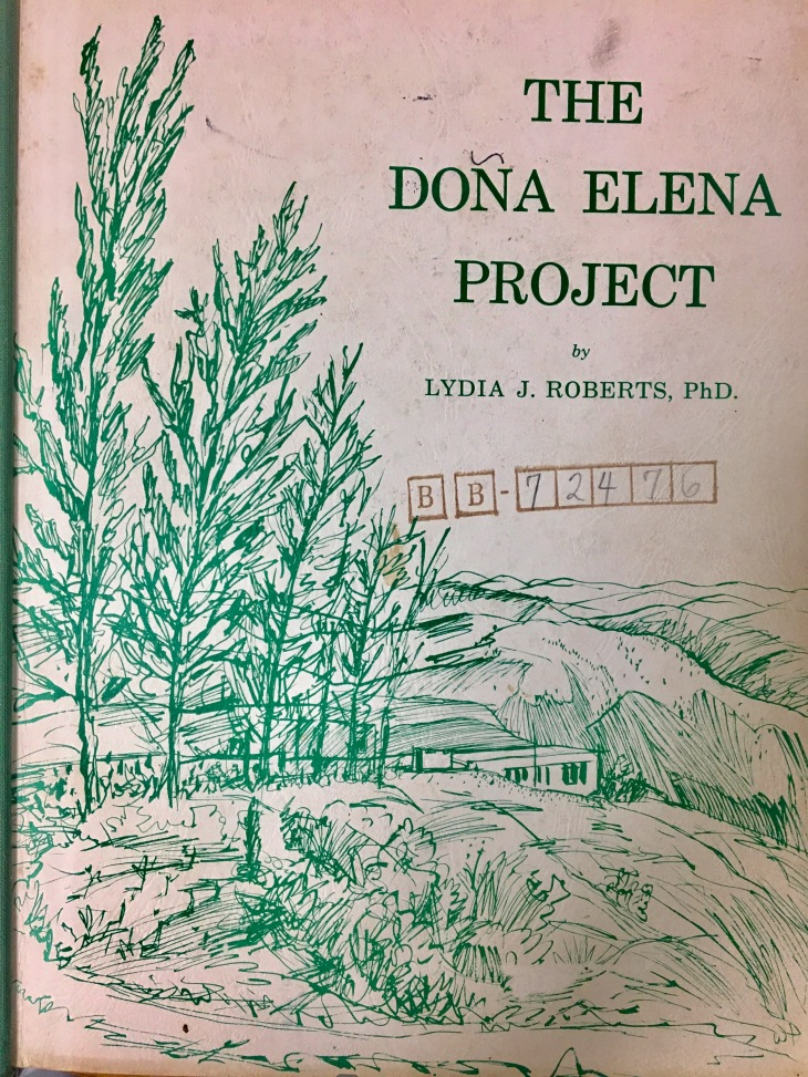 Portada en Doña Elena Project