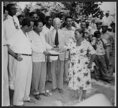 Entrega de parcela 1952