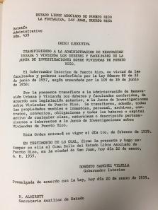Orden Ejecutiva Roberto Sánchez Vilella
